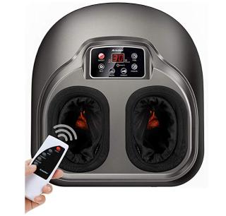 Elektrisches Shiatsu Fussmassagegerät mit Wärmefunktion und 5 verschiedenen Modi und Fernbedienung für 84,99 Euro