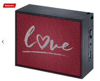 MAC AUDIO BT Style 1000 Love Bluetooth Lautsprecher für 11,- Euro