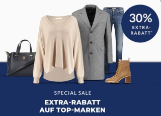 Engelhorn Special Sale mit 30% Rabatt auf Marken wie Polo Ralph Lauren, Gant, oder Tommy Hilfiger