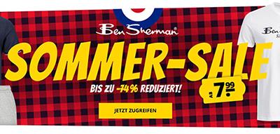Der Ben Sherman Mega-Sale bei SportSpar mit bis zu 74% Rabatt
