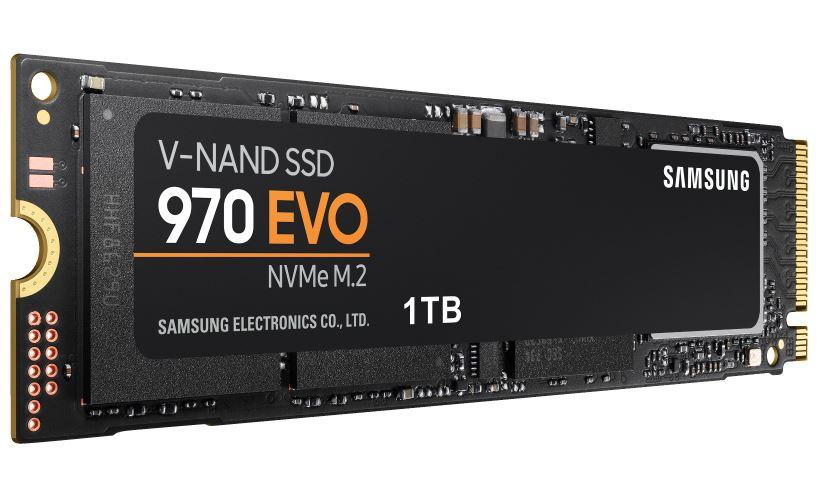 SAMSUNG NVMe SSD 970 Evo 1 TB SSD für nur 179,- Euro inkl. Versand