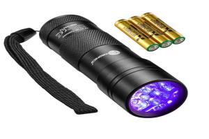 TaoTronics UV Taschenlampe Schwarzlicht für nur 4,99 Euro