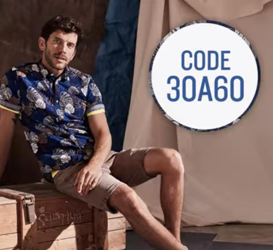 30,- Euro Rabatt ab 60,- Euro Bestellwert im Tom Tailor Onlineshop