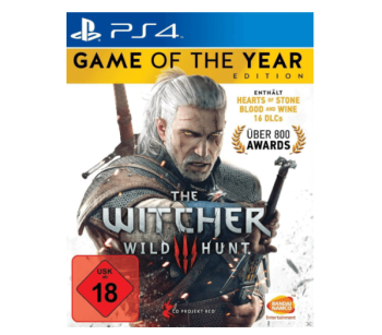 The Witcher 3 – Wild Hunt (Game of the Year Edition) für PS4 nur 19,99 Euro
