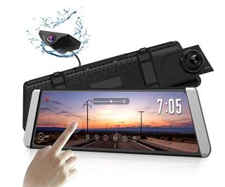 AUTO-VOX X1 DashCam Spiegel mit Rückfahrkamera und Touchscreen für 171,99 Euro