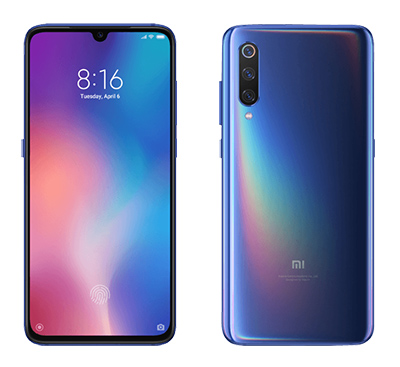 XIAOMI MI 9 128 GB Blau Dual SIM Smartphone für nur 399,- Euro inkl. Versand