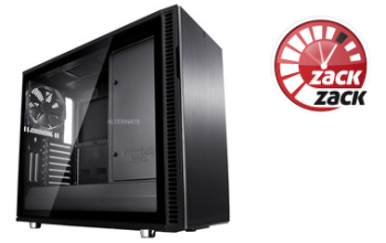 Fractal Design Define R6 Blackout TG Tower-Gehäuse für 115,89 Euro