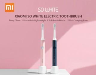 Elektrische Xiaomi SO Zahnbürste in pink oder blau ab 13,25 Euro inkl. Versand