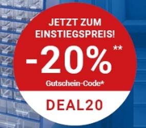 20% Rabatt im Zoro Onlineshop auf alle Zoro Eigenprodukte
