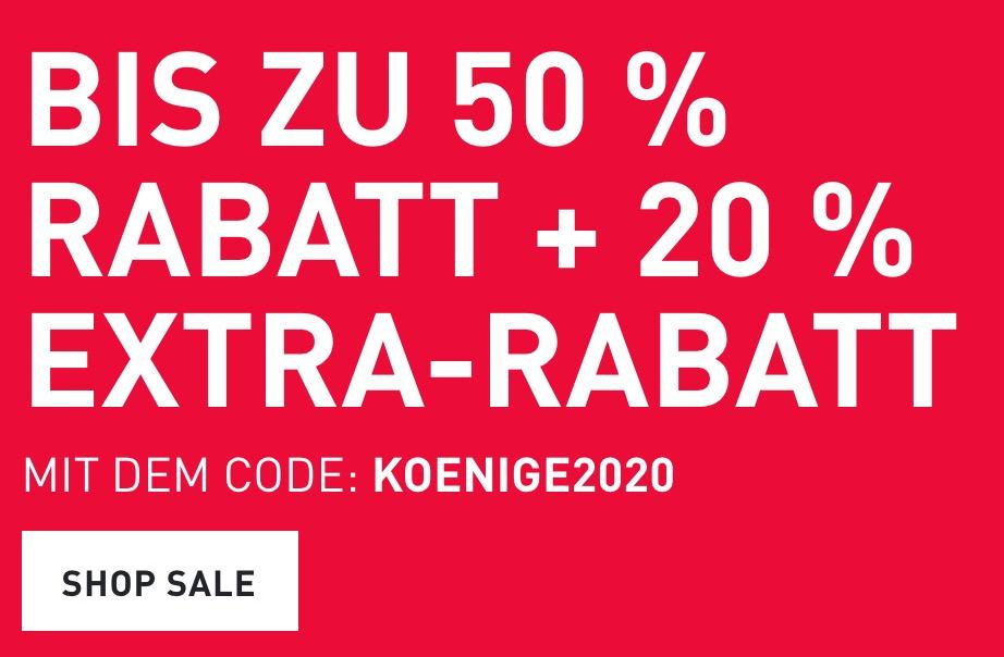 20% Rabatt auf reduzierte Artikel im Puma Onlineshop