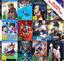 3 für 2 Aktion auf Anime Produkte bei Media Markt