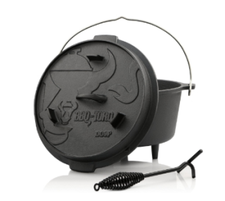 BBQ-Toro Dutch Oven DO9PX, 9,0 L Premium Gusseisen Topf für 39,95 Euro bei Zahlung mit Masterpass