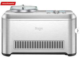 SAGE The Smart Scoop Eismaschine (200 Watt, Silber) für nur 239,- Euro inkl. Versand
