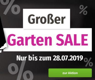 GartenXXL Sale mit bis zu 75% Rabatt auf über 100 Artikel