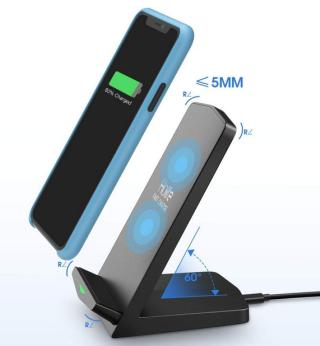 Holife Wireless Qi Charging-Ständer mit 7.5W bzw. 10W für nur 11,99 Euro