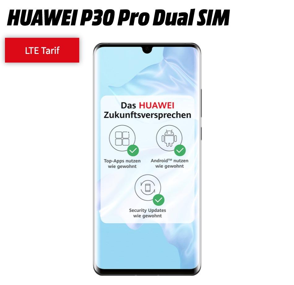 MD Vodafone green LTE mit 10GB für mtl. 31,99 Euro + HUAWEI P30 Pro für nur einmalig 1,- Euro