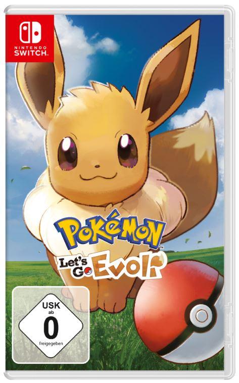 Pokémon – Let's Go Evoli! [Switch] + 12 Monate Switch Online Mitgliedschaft für nur 47,99 Euro (statt 68,- Euro)