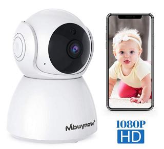 Dreh- und schwenkbare Mbuynow WLAN Überwachungskamera für 18,99 Euro