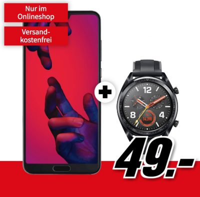 MD Vodafone green LTE mit 6GB Daten für mtl. 21,99 Euro + Huawei P20 Pro & Watch GT für nur 49,- Euro