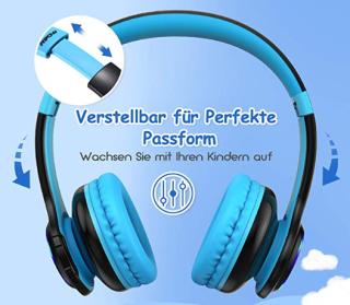 Mpow CH9 Kopfhörer speziell für Kinder nur 19,99 Euro inkl. Prime-Versand