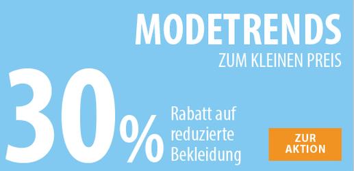 Sichert euch bei NKD 30% Extra-Rabatt auf bereits reduzierte Artikel