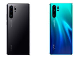HUAWEI P30 Pro Smartphone mit Triple Camera & 128GB in schwarz oder aurora blue je 614,55 Euro