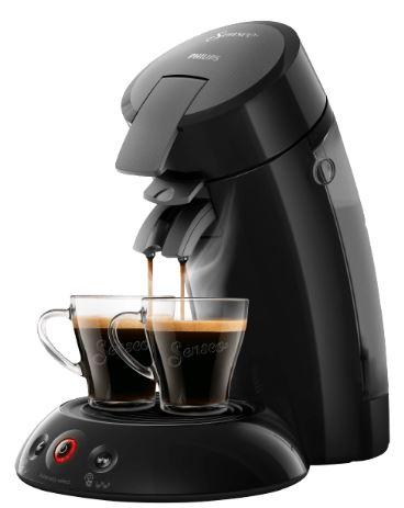 Wieder da! Philips Senseo Pad-Kaffeemaschine HD6554 nur 39,- Euro