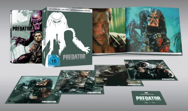 Predator (Limited Slipsheet Edition – Blu-ray) für nur 39,- Euro inkl. Versand