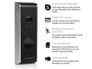 Smartwares Wifi Video-Türklingel DIC-23112 für 105,90 Euro