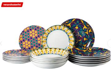 Thomas Porzellan Colour Game Tellerset 18-teilig für nur 48,- Euro inkl. Versand