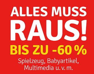 Mega Sale bei MyToys mit bis zu 60% Rabatt