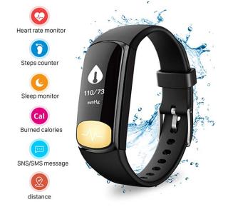Uten iw5942b Fitness Tracker mit Herzfrequenzmesser für nur 9,99 Euro