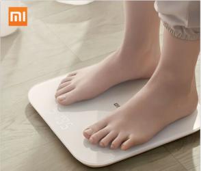 Xiaomi Mi Smart Scale 2 BT5.0 Body Personenwaage für nur 22,39 Euro inkl. Versand
