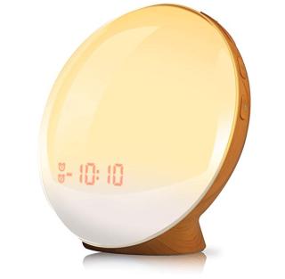 TITIROBA Lichtwecker mit 20 Helligkeitsstufen und Naturklängen für nur 28,85 Euro bei Amazon