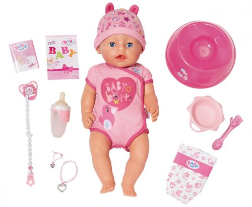 BABY born Babypuppe Soft Touch Girl Blue Eyes für nur 29,99 Euro