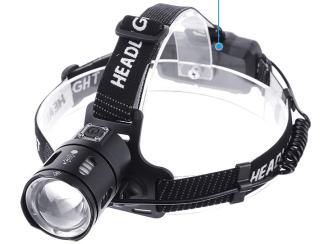 OUTERDO LED-Stirnlampe mit 3500 Lumen und 2 Akkus für 11,47 Euro