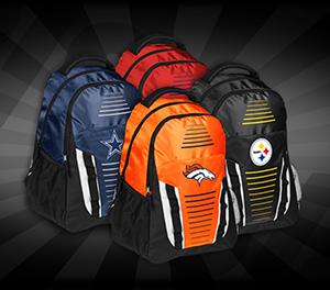 Verschiedene NFL Team Rucksäcke für nur 13,94 Euro – z.B. Steelers, SF 49ers, Oakland Raiders uvm.