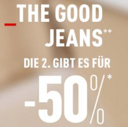Jeans Aktion bei Pimkie: Kauft zwei Jeans und sichert euch 50% Rabatt auf die zweite