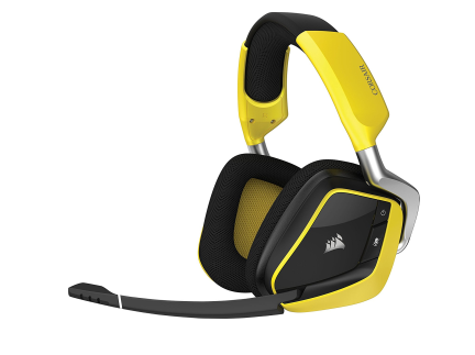 Top! Corsair Gaming VOID PRO Wireless SE in gelb für nur 61,89 Euro (statt 124,- Euro)