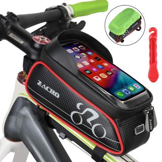 Zacro 3 in 1 Fahrrad Rahmentasche mit Handyfach für nur 8,49€