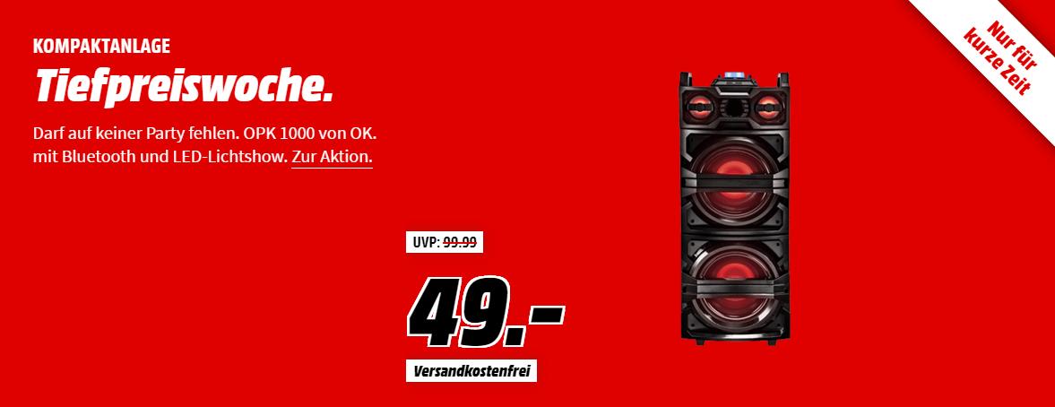 """MediaMarkt """"Sound Tiefpreiswoche"""" – Tiefpreiswoche mit vielen günstigen Angeboten z.B. PHILIPS HR 2381/05 Nudelmaschine für nur 179,- Euro"""