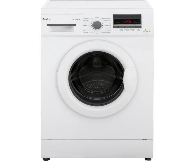 Amica WA 14671 W Waschmaschine (7 kg, 1400 U/Min, A+++) für 289,- Euro inkl. Versand