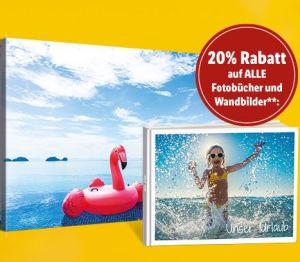 Sichert euch 20% auf alle Fotobücher und Wandbilder bei Lidl.de