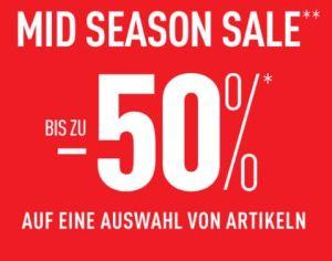 Mid Season Sale bei Pimkie mit bis zu 50% Rabatt auf ausgewählte Artikel