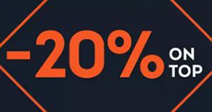 20% Extra-Rabatt auf 1.600 Outdoor Topseller bei SportScheck
