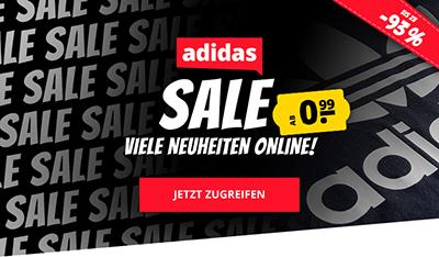 Adidas Megasale bei SportSpar mit bis zu 93% Rabatt + kostenloser Versand