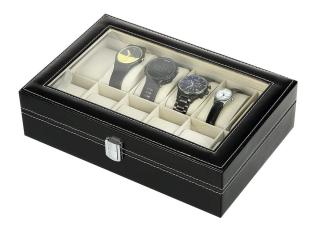 Abgelaufen! Mbuynow Uhrenbox für 12 Uhren nur 10,99 Euro