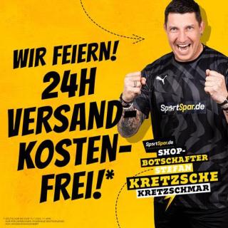 Knaller: Nur bis 11 Uhr versandkostenfrei bei SportSpar bestellen!