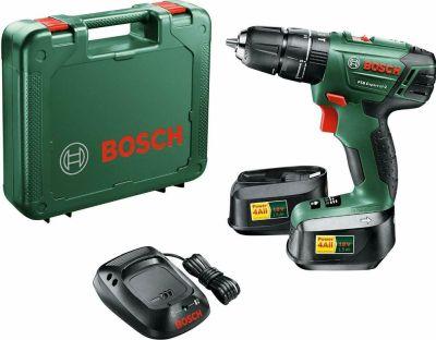 Bosch PSB Expert Li 2 Schraubendreher Bohrmaschine (2 Akkus 1,5 Ah 18 Volt) für nur 99,- Euro inkl. Versand
