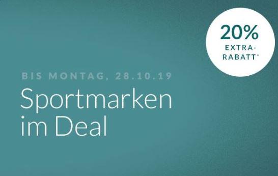 Engelhorn Mode Weekend-Deal: 20% Sportmarken Bekleidung und Schuhe